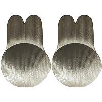 CQHY Women Rabbit Ear Lift Nipplecovers Bra Strapless Backless Adhesive Sticky Invisible Bra