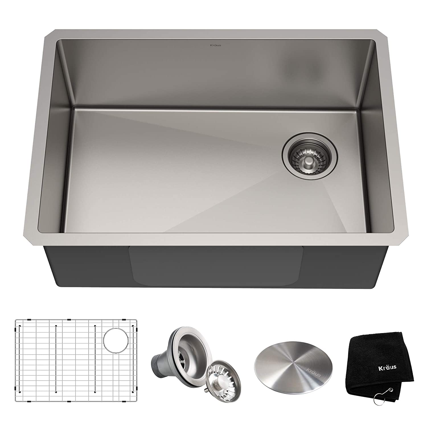 Kraus KHU110-27 Standart PRO Kitchen Stainless Steel Sink 27 Inch