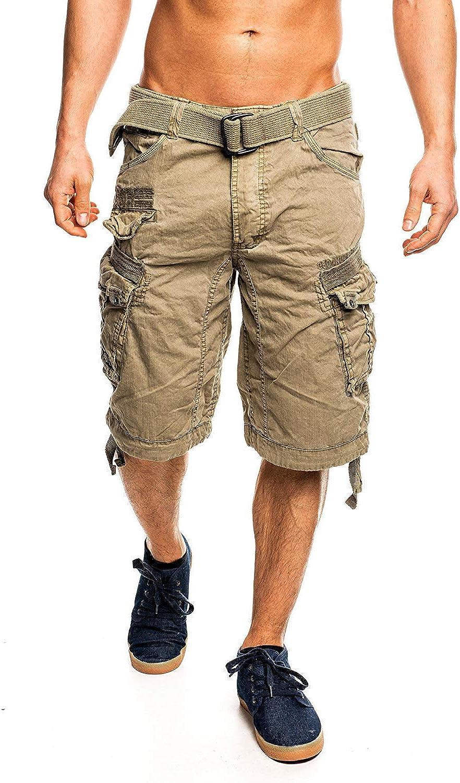 Geographical Norway - Pantalones cortos tipo cargo