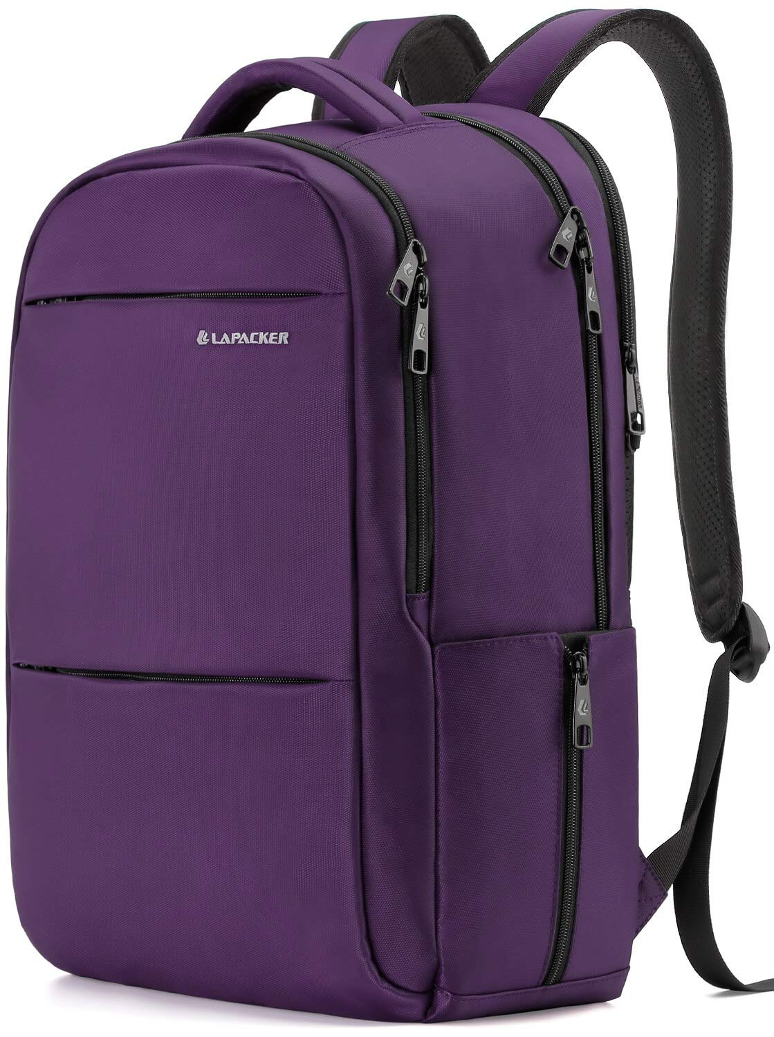 LAPACKER 15.6-17 inch Business Laptop Backpacks for Women Mens Water Resistant Laptop Travel Bag Lightweight College Students Notebook Computer Backpack - Purple by LAPACKER