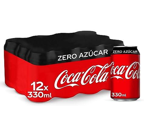 Coca-Cola Zero Azúcar Lata - 330 ml (Pack de 12): Amazon.es: Alimentación y bebidas