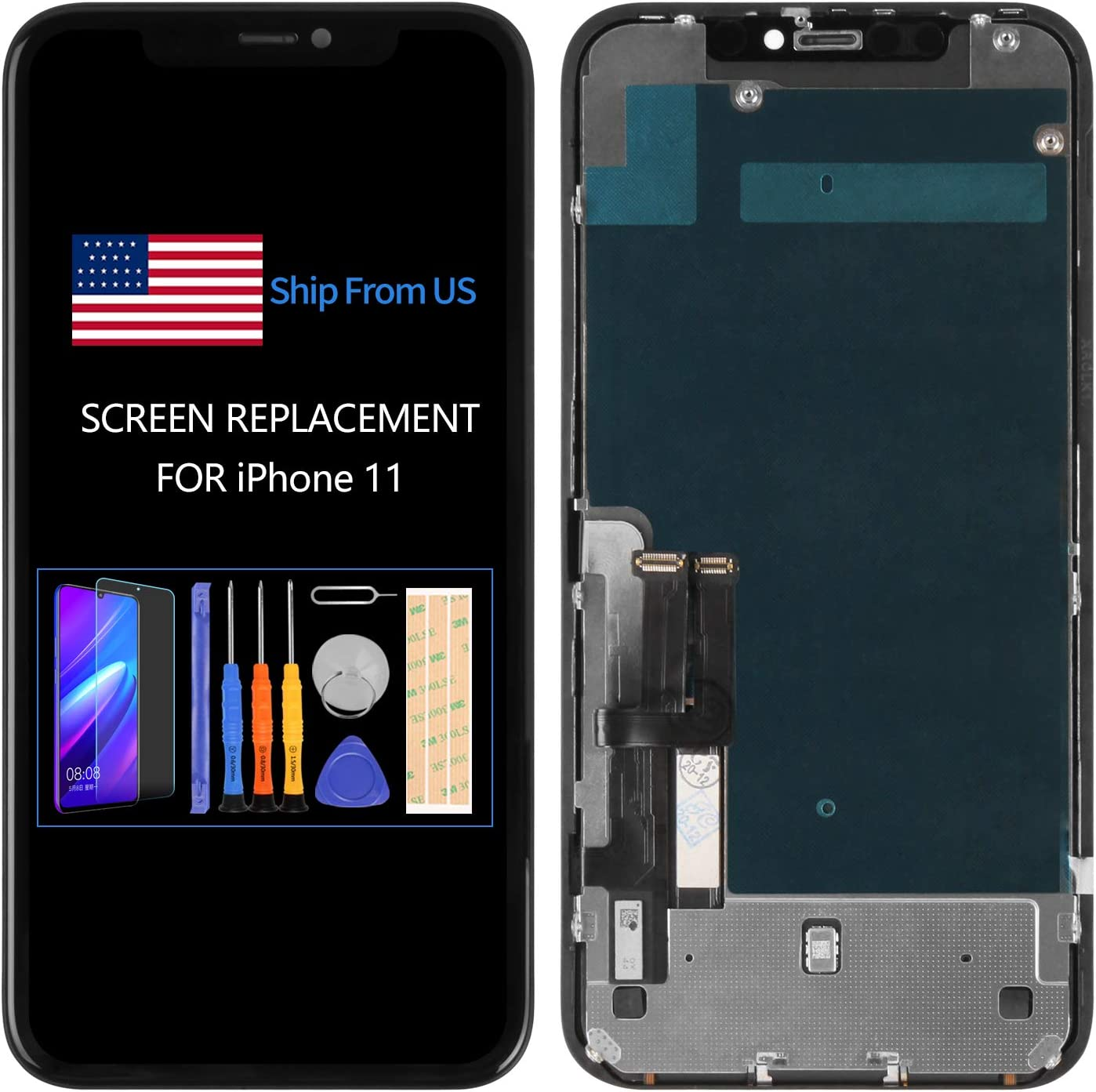 Year-end annual Our shop most popular account 6.1 inch for iPhone 11 LCD Screen A2221 Replacement A2111 A2223