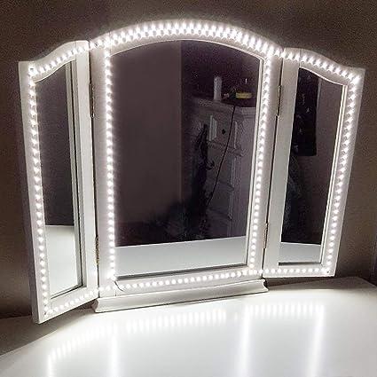 Led Vanity Mirror Lights Kit,ViLSOM 13ft/4M 240 LEDs Make Up Vanity