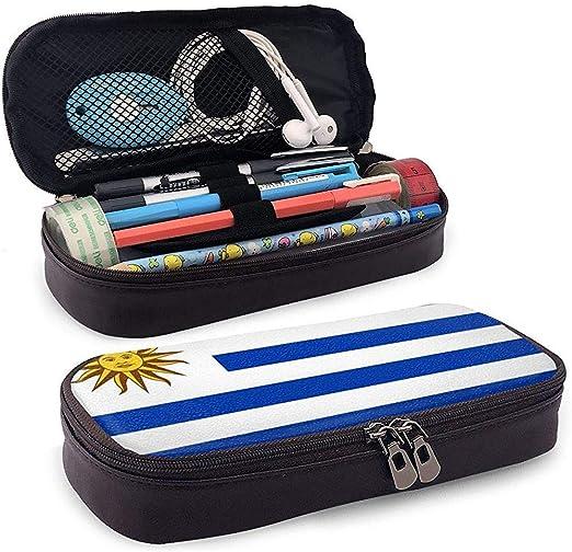 CueroEstuche para lápices Bandera de Uruguay Estuche para ...