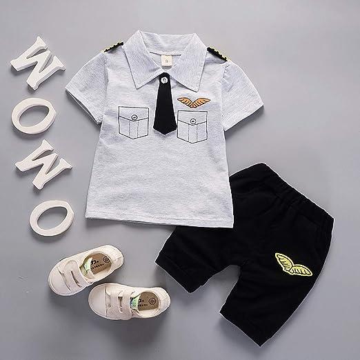 241d7c04fbb6 Summer Baby Boy Clothing Set Kids Sport Suits Tops+Shorts 2 pcs Clothes Set  Children