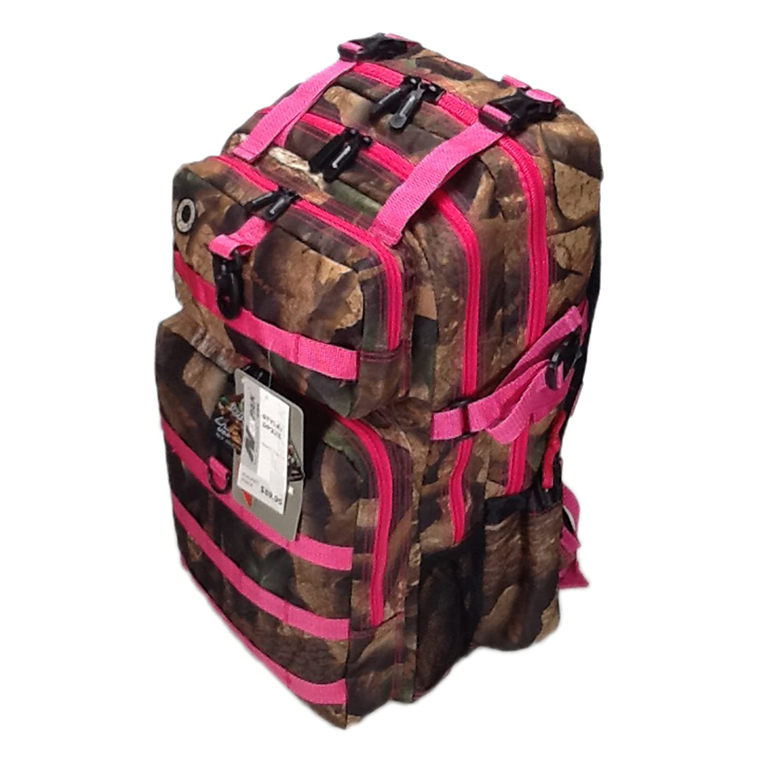 21inch 2000 cu in Great Hunting Camping Hiking Backpack DP321 DCPK Pink DIGITAL CAMOUFLAGE by Nexpak B00UD7B45U