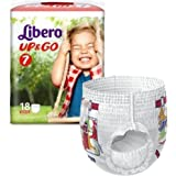 Libero 7 up and go pull up pants XLarge 16 to 26 kilos pack 18