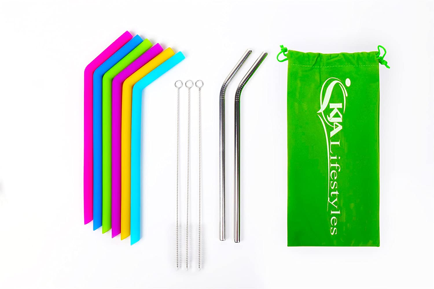 Image result for Silicone Straws By KJA