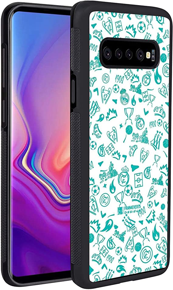Amazon Com Galaxy S10 2019 6 1in Case Background Pattern Real Madrid Sport Wallpaper Whatsapp Electronics