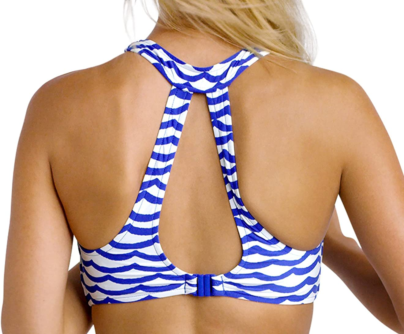 Tops-Tidal Wave-High Neck Tank Top-30588-241 Seafolly Singlet