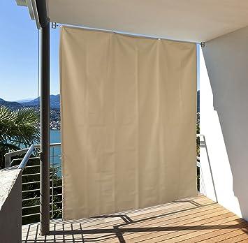Sonnenschutz Balkon amazon de balkon sichtschutz vertikal balkonsichtschutz zum