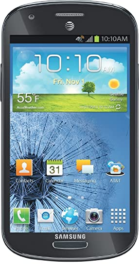 Samsung Galaxy Express I437 Unlocked GSM Phone with 4G, Android 4 0 OS,  Dual-Core Processor, 4 5