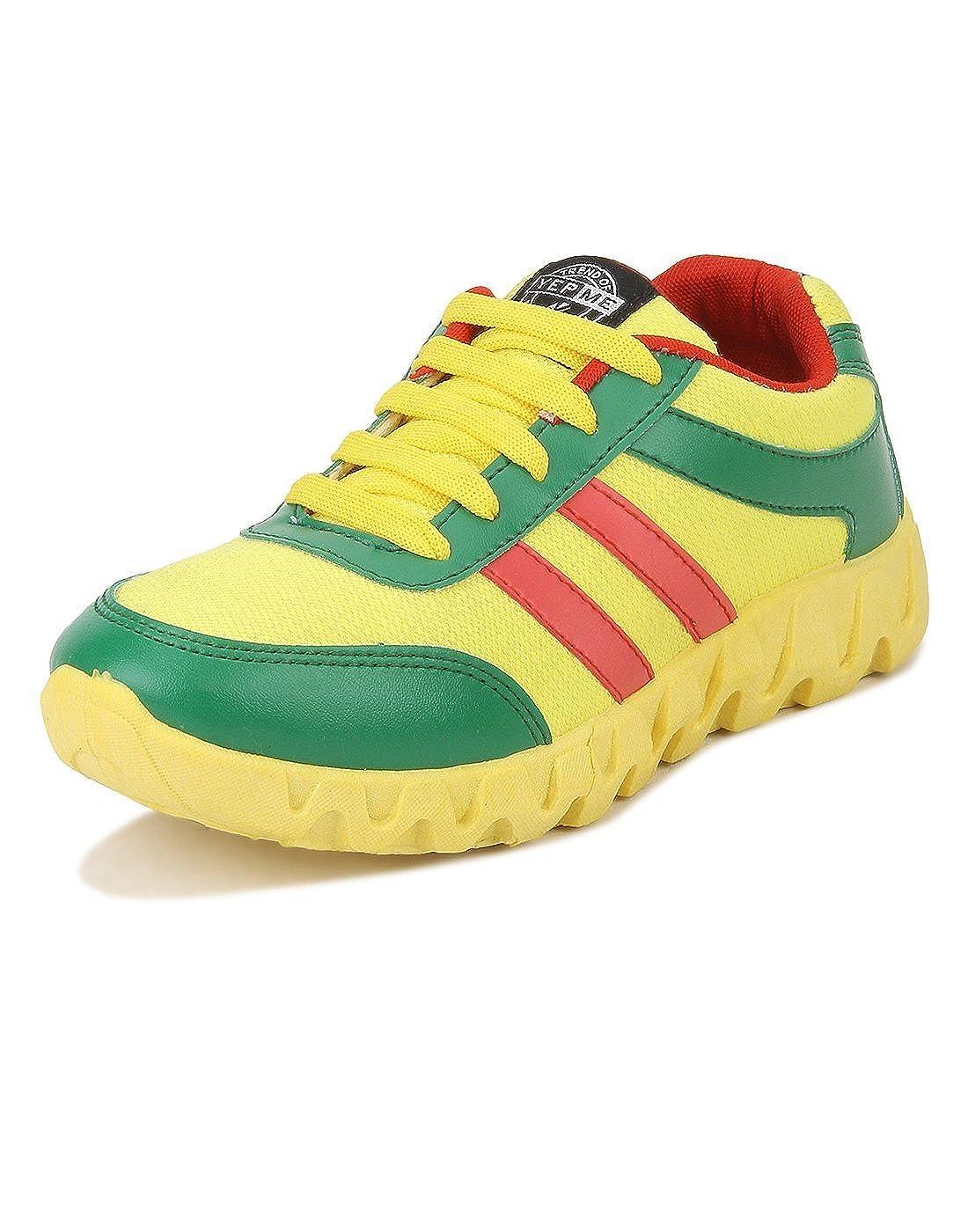Yepme Men's Yellow Canvas Casual Shoes