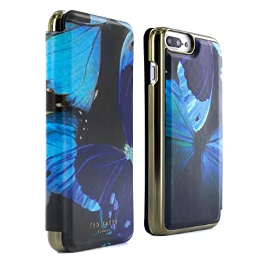 46f57fec5b89c Ted Baker Official AW16 Folio Case for iPhone 8 Plus   7 Plus in Butterfly  Print