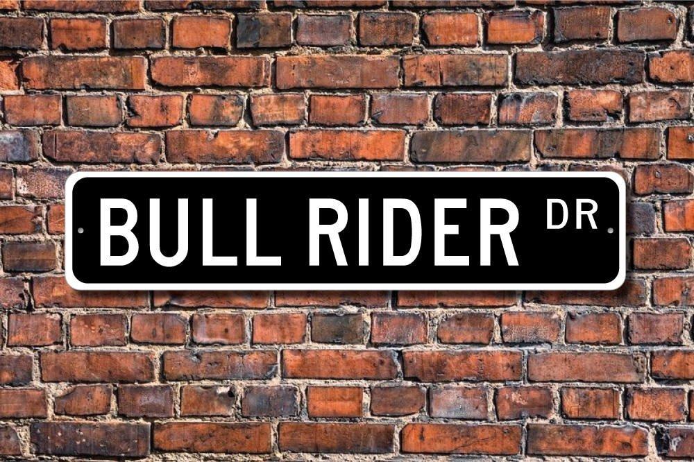 qidushop Bull Rider Bull Rider - Cartel de Regalo, diseño de ...