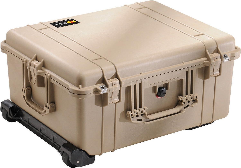 Pelican 1610 Camera Case With Foam (Desert Tan)