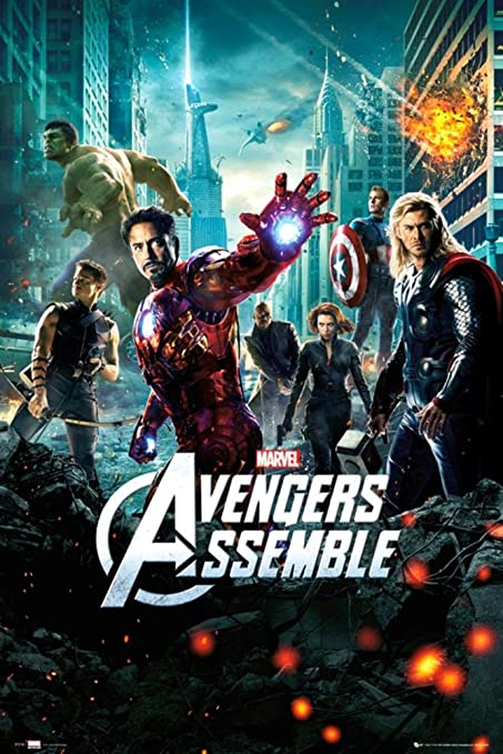 Image result for the avengers poster
