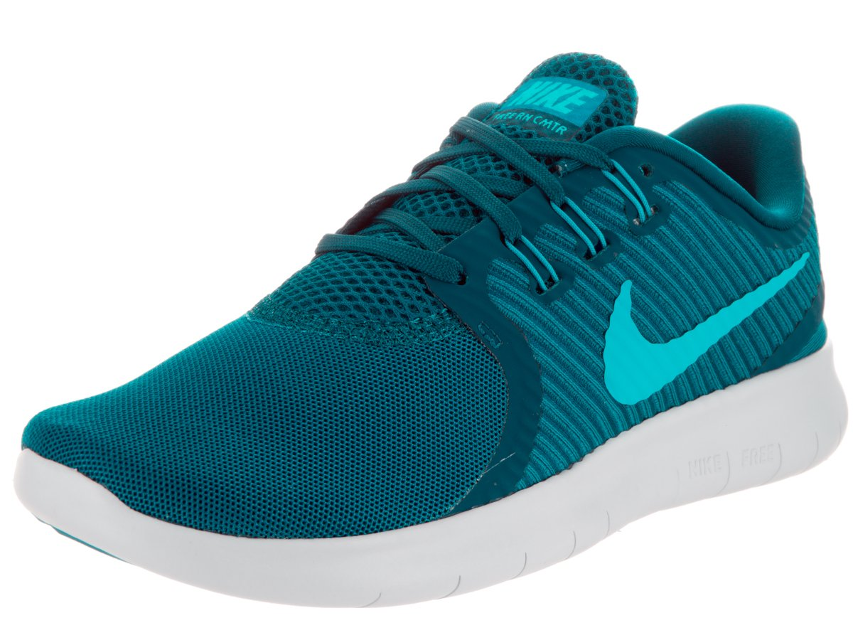 da961f94b9133 Galleon - Nike Womens Free Rn Cmtr Green Abyss Bl Lagoon Glcr Bl Running  Shoe 6 Women US