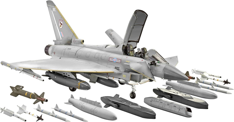 Revell 04689 - Maqueta de Eurofighter Typhoon (biplaza, escala 1:48) [importado de Alemania]: Amazon.es: Juguetes y juegos