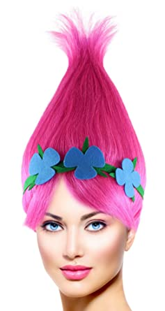Pink Chestnut Cone Hair Wigs w/Wig Cap Cosplay Costume Party
