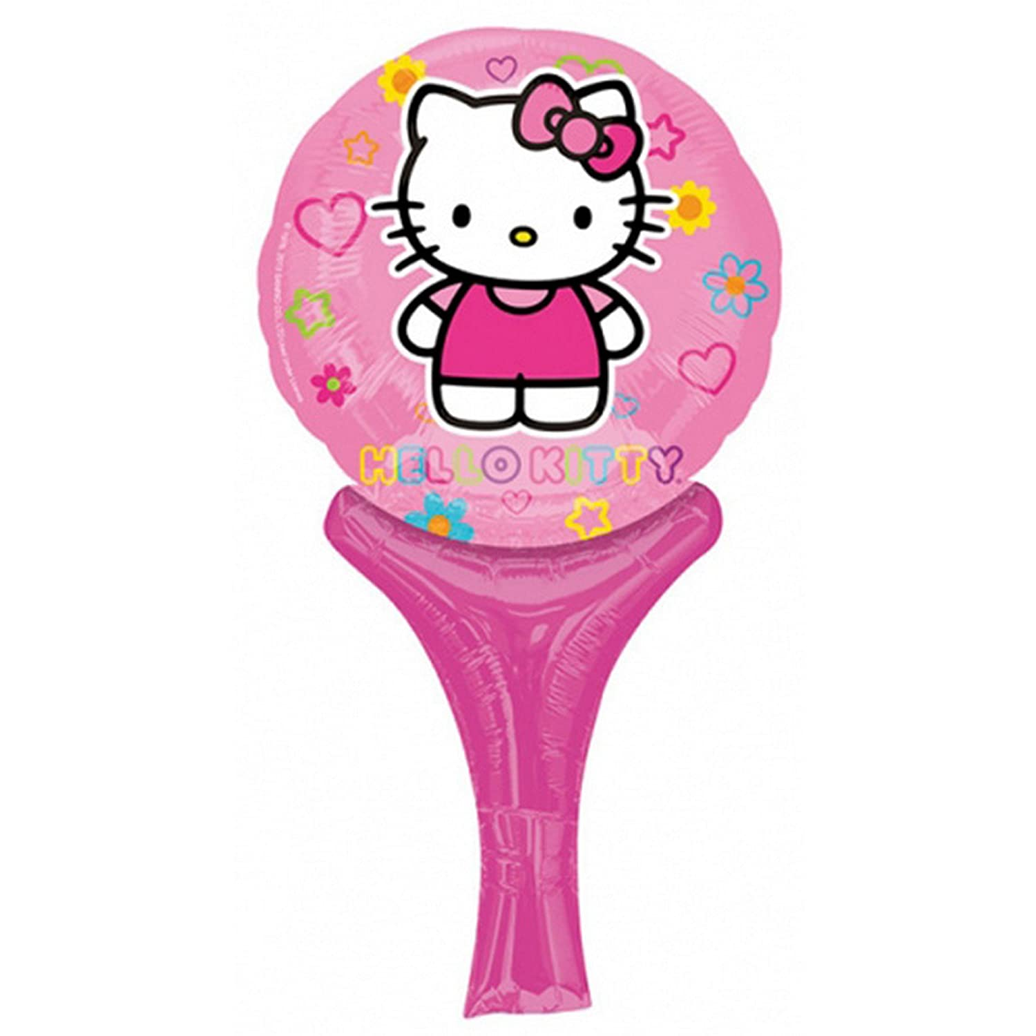 Anagram - Globo Hinchable de Hello Kitty (One Size) (Rosa): Amazon ...