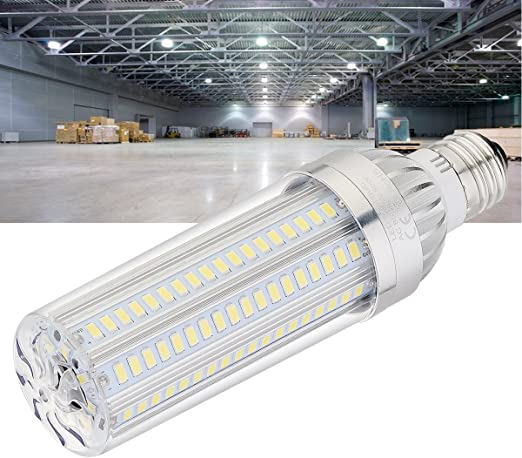 Blanc, 6500 K, 1 pcs 380 Watt /équivalent 5400 lumens 360 /° Lumi/ère pour grande surface Street lampe Garage Highway entrep/ôt Super Lumineux Ahevo LED Ma/ïs Ampoule 50 W lampe /à incandescence
