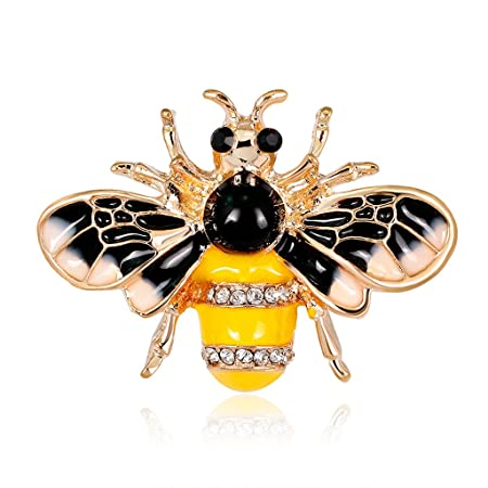 a3002325c JAGETRADE Bee Brooch Pins Insects Jewelry Men Women Suit Fashion ...