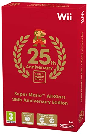 nintendo wii super mario all stars 25th anniversary