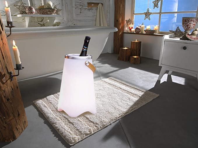 Lámpara de altavoz Bluetooth CALLOON con cambio de color de LED y enfriador de bebidas