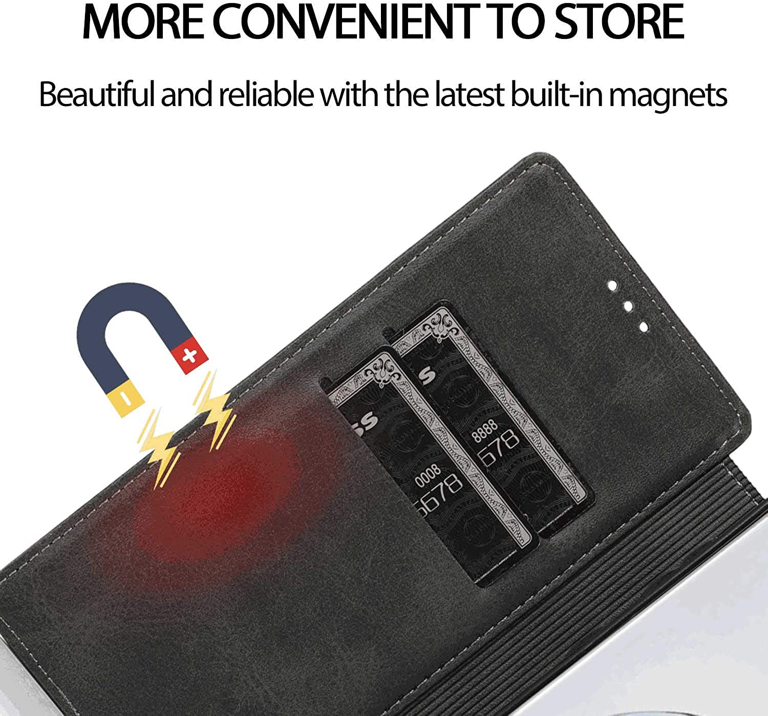 Cover for Leather Kickstand Extra-Protective Business Card Holders Mobile Phone case Flip Cover Samsung Galaxy S10 Plus Flip Case