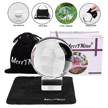 Amazon.com: Bola de cristal con bolsa para fotografía, bola ...