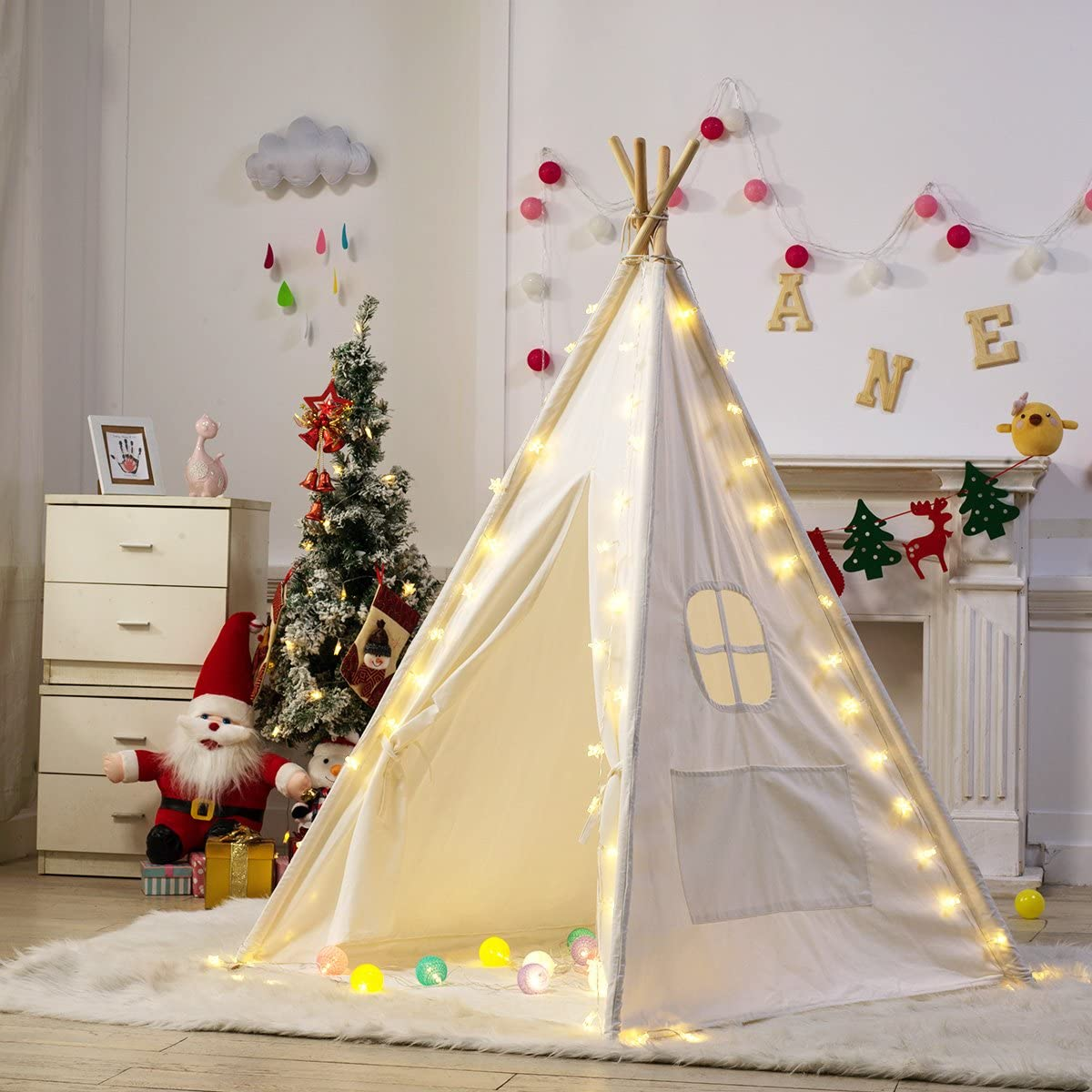 Dako Living Kids Teepee White