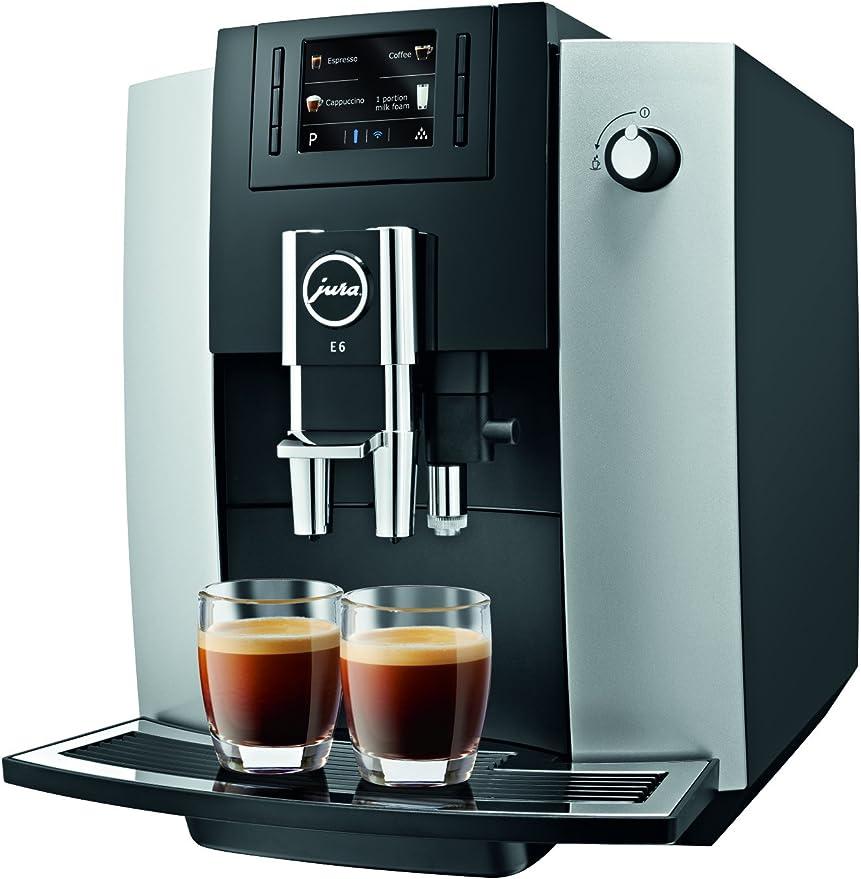 Amazon.com: Jura E6 Centro de café automática 15070, platino ...