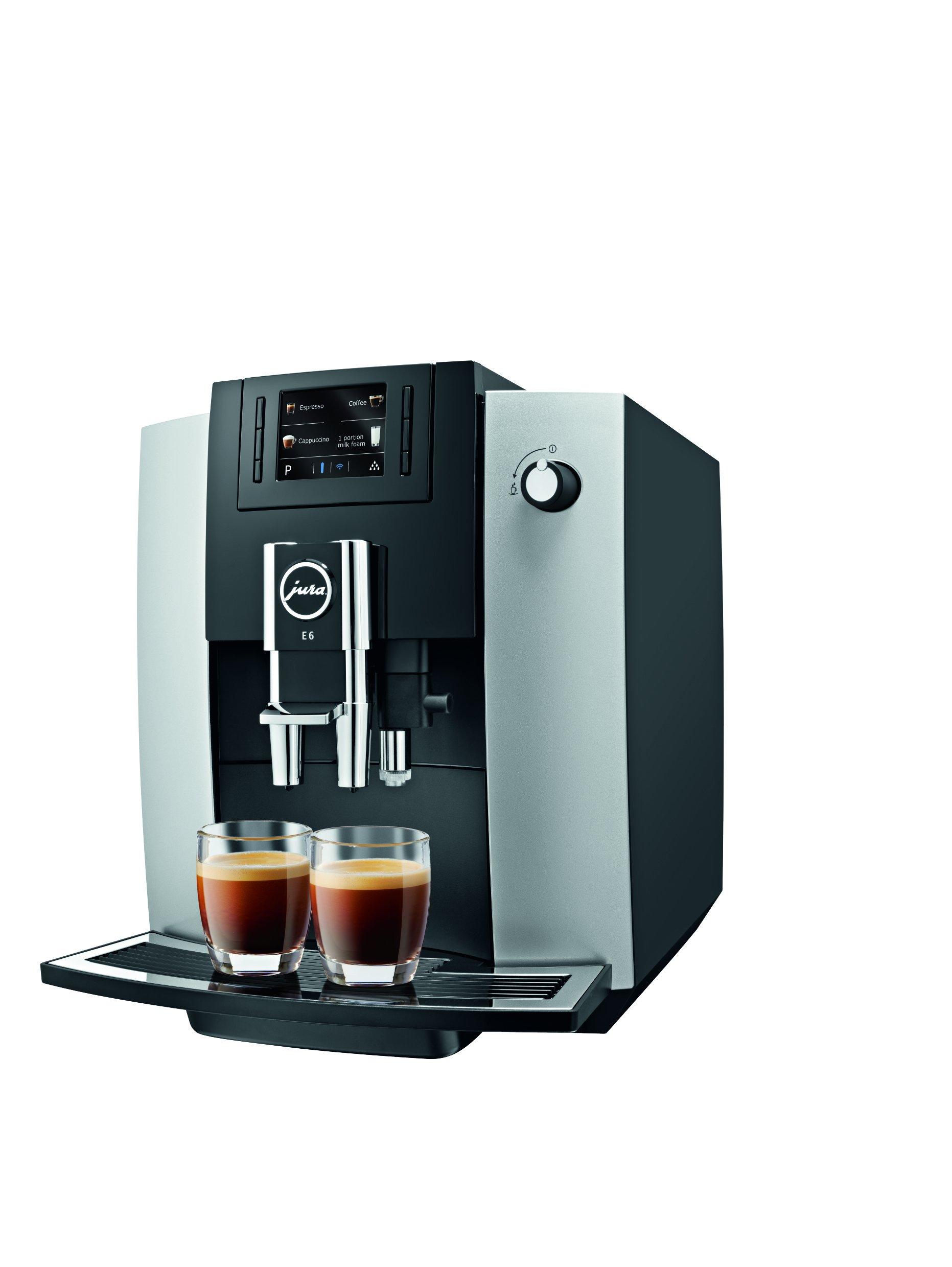 Jura 15070 E6 Automatic Coffee Center, Platinum by Jura