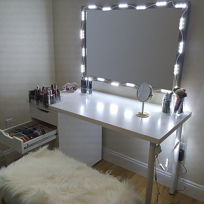 Review Makeup Mirror Vanity LED