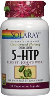 Solaray 5HTP, Plus St JohnÂs Wort, 30 Count