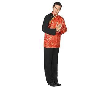 Atosa-17407 Disfraz Chino, Color Rojo, XL (17407): Amazon.es ...