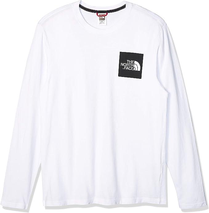 The North Face M L/S Fine tee Camiseta Manga Larga, Hombre: MainApps: Amazon.es: Ropa y accesorios
