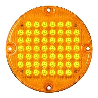 "Grand General 82350 Amber/Amber Sealed Light (7"" Smart Dynamic 52 LED Bus): Automotive"