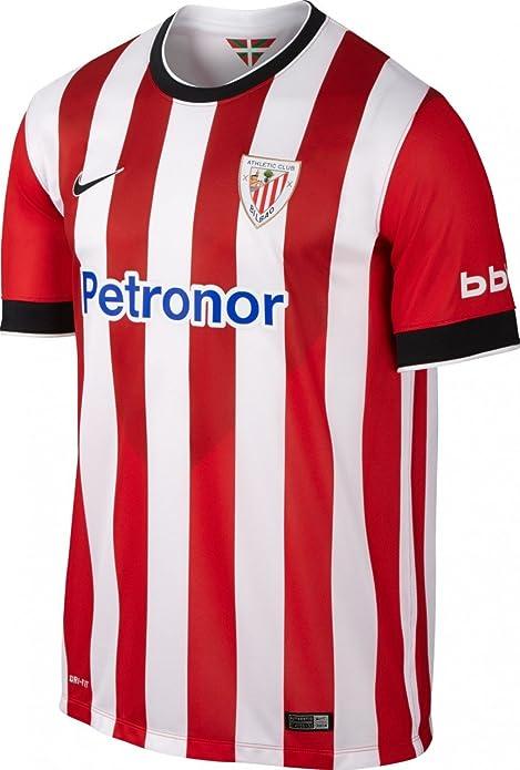 0147ef03b269c Nike - Camiseta 1ª equipación Athletic Club de Bilbao 2014-2015  Amazon.es   Deportes y aire libre