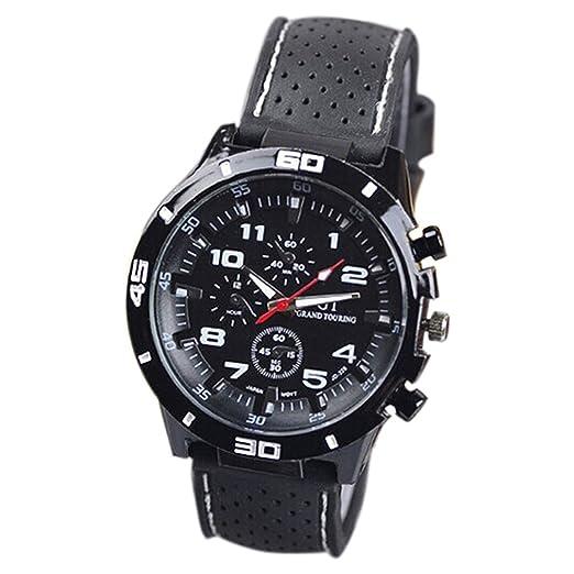 Reloj de pulsera de hombre - GT Reloj de pulsera de hombre Reloj del silicona Reloj