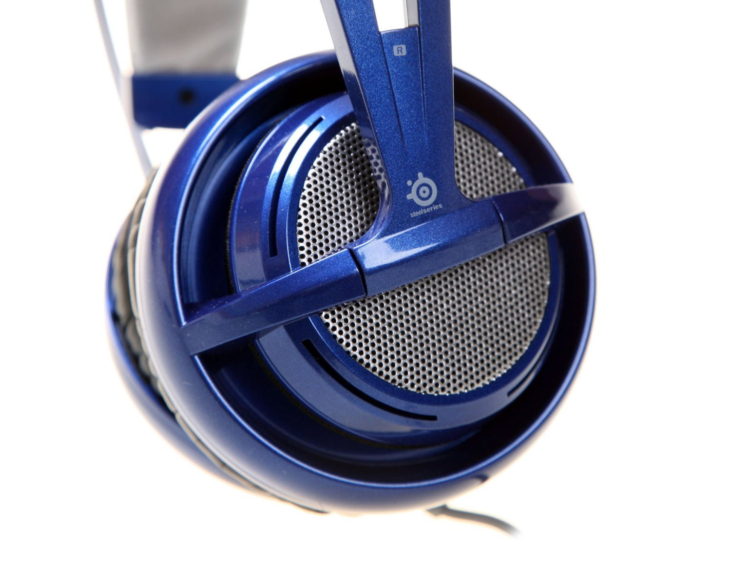 Amazon.com: SteelSeries Siberia V2 FullSize Headset with Microphone | Blue: Electronics
