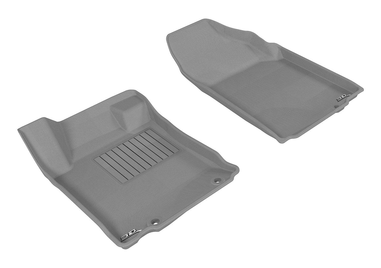 3D MAXpider L1NS09201502 Tan All-Weather Floor Mat for Select Nissan Altima Models Complete Set