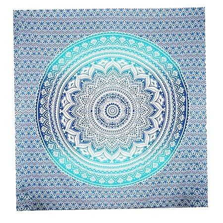 AMOYER Mandala Tapiz Colgante De Pared De La India Yoga ...