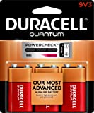 """Duracell - Quantum 9V Alkaline Batteries - long lasting, all-purpose 9 volt battery for household and business - 3 count"""