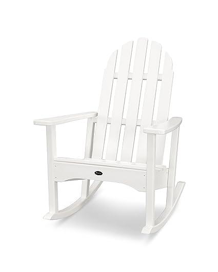 Amazon Com Trex Outdoor Furniture Cape Cod Adirondack Rocking