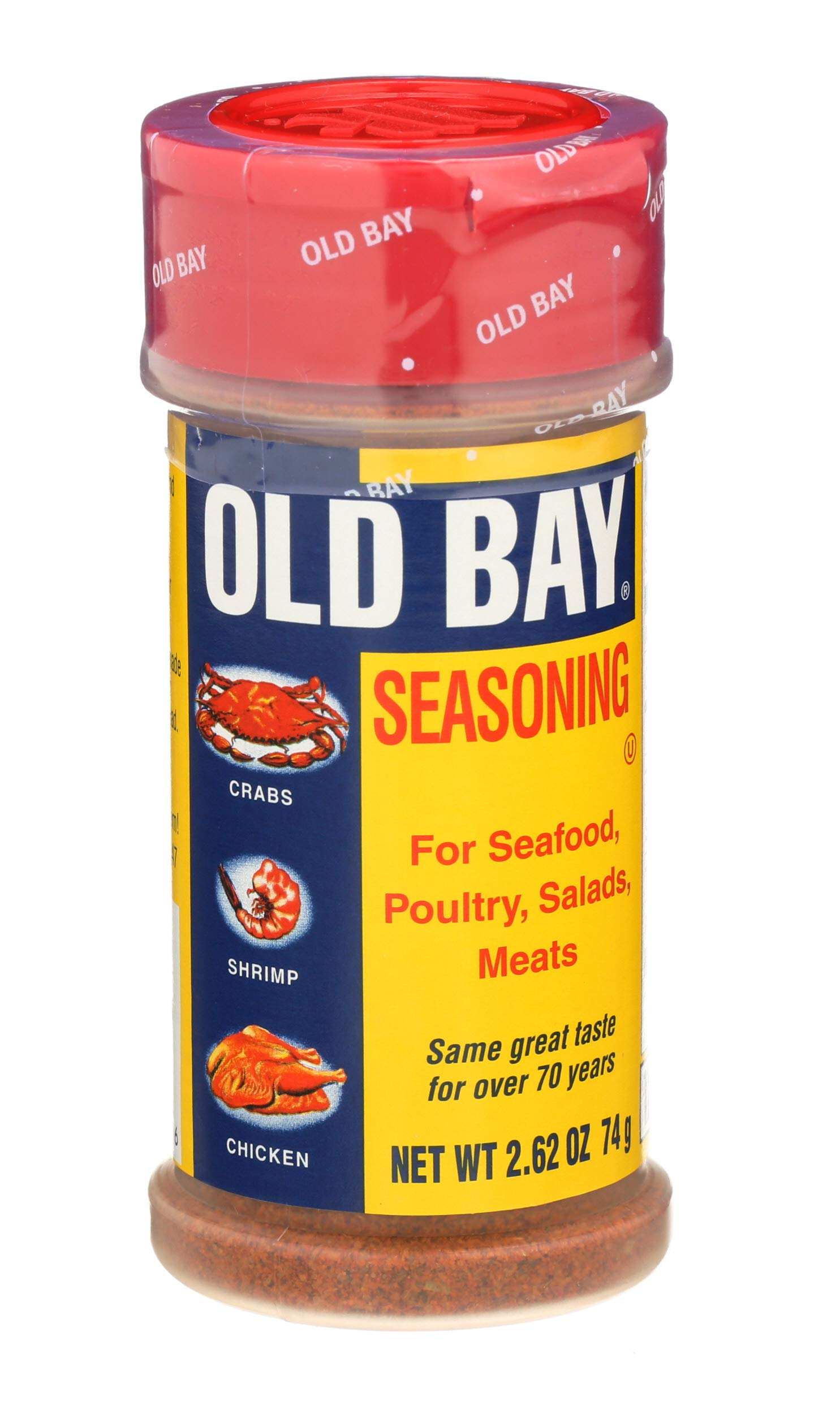 Old Bay Seasoning for Seafood - Poultry - Salads & Meats 74g