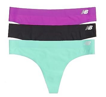 New Balance para Mujer Bond Tanga Talla 3 Unidades, Mujer, Azalea Purple/Black