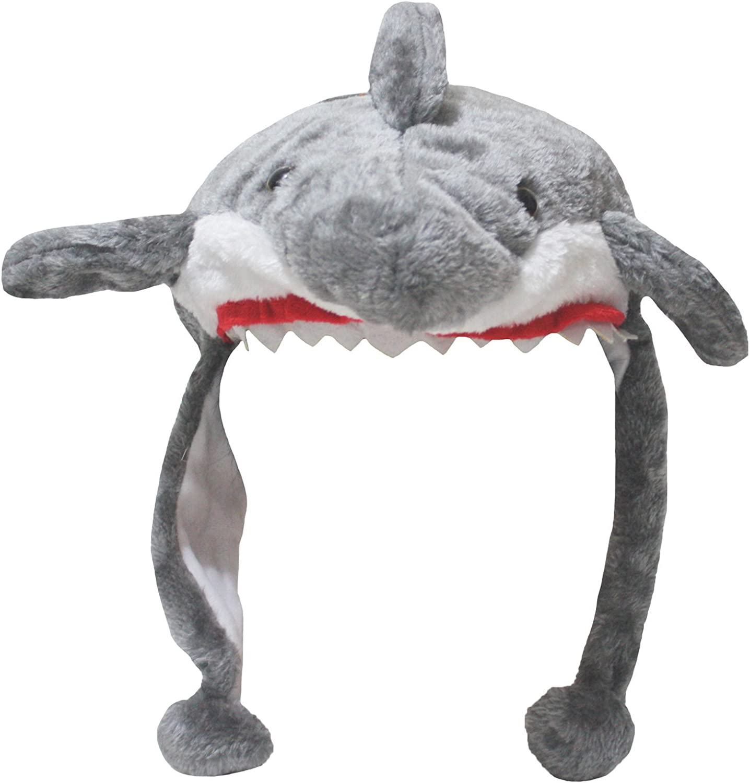 Petitebella Grey Shark Warm Hat Unisex Free Size