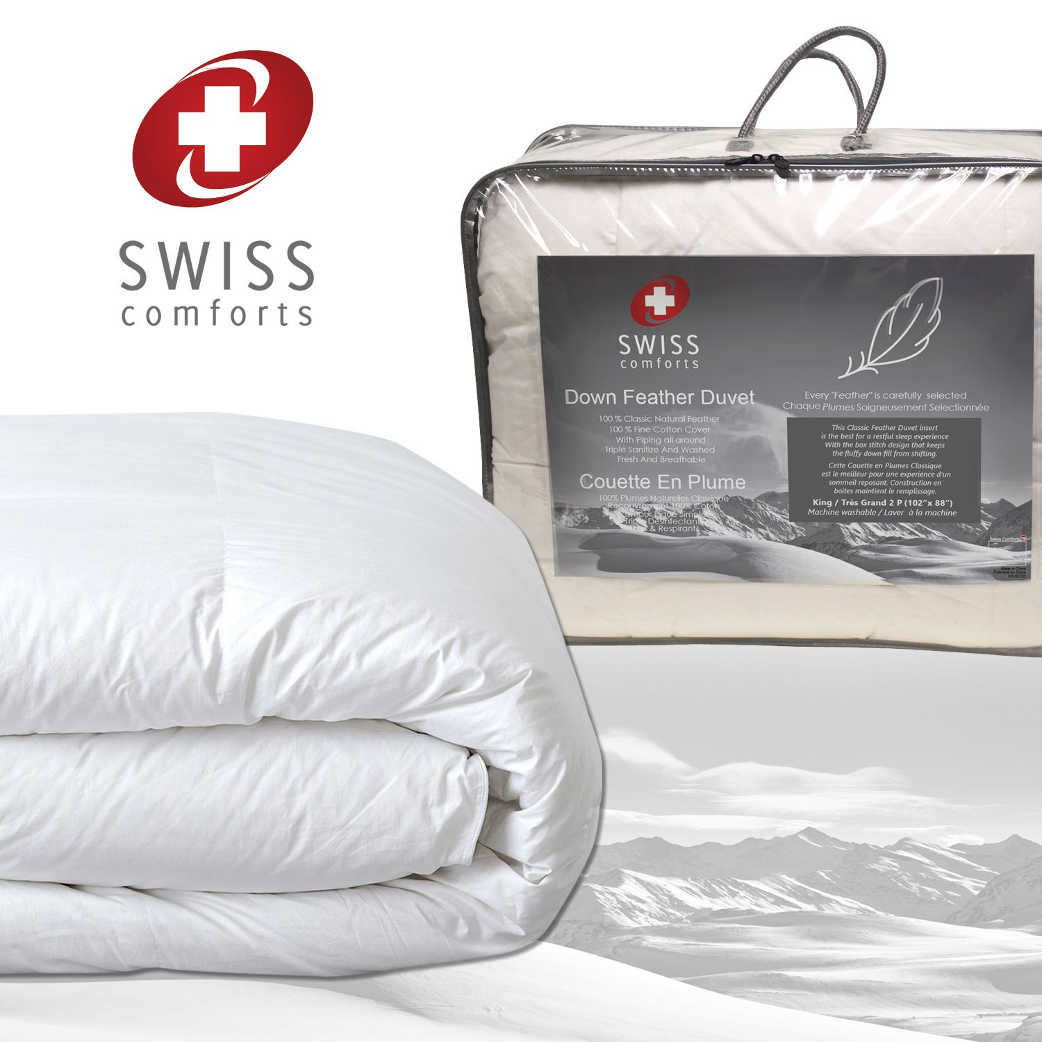 duvet goose products feather white pehr squ